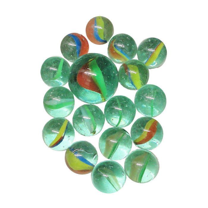 100+2 Children/'s Assorted Toy Glass Marbles for Games Large Bag of Marbles