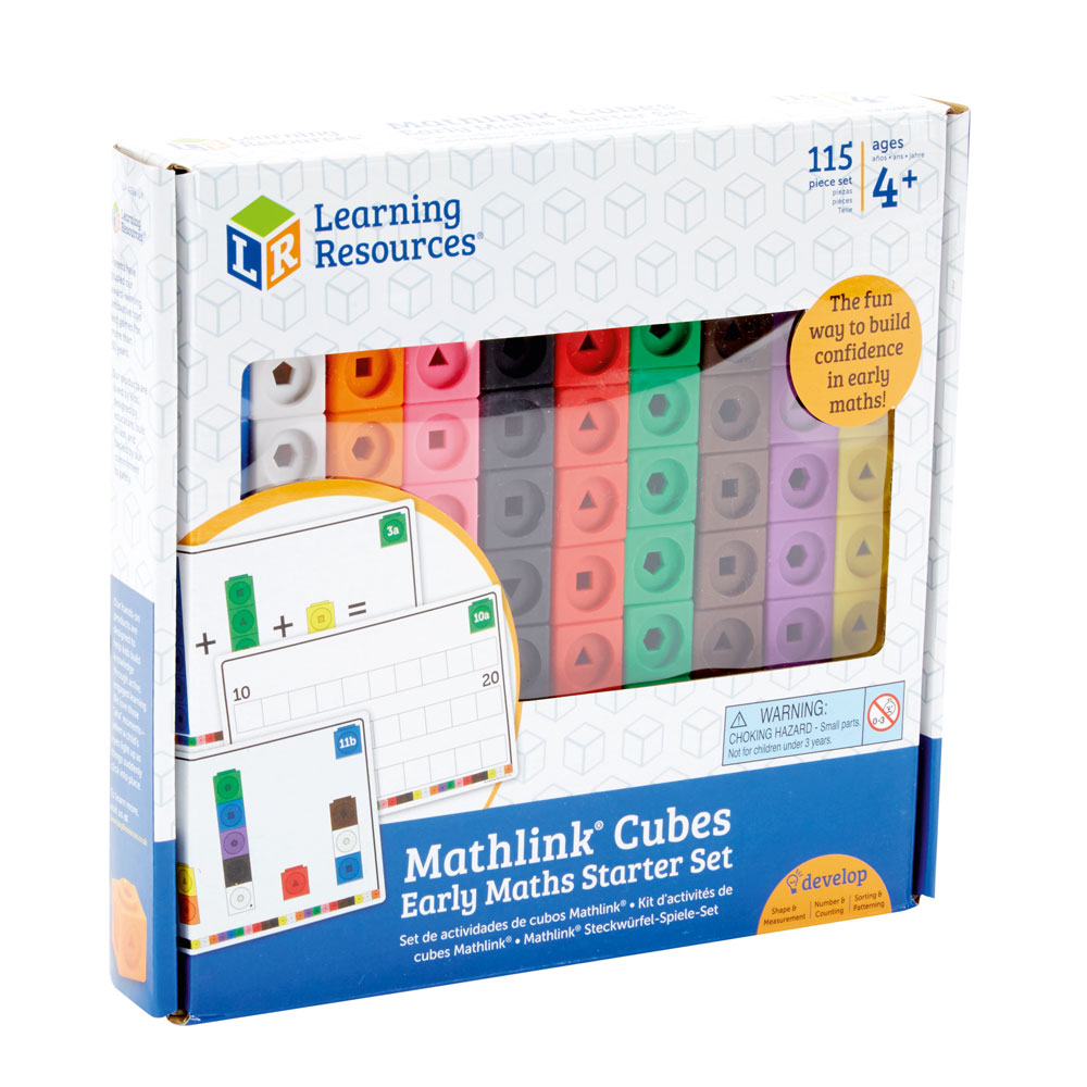 Set di 100 Cubi Learning Resources Math Collegamento Cubi