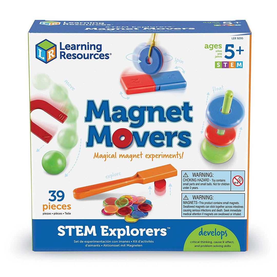 Stem Explorers GeoMakers 3-D building challenges for Kids