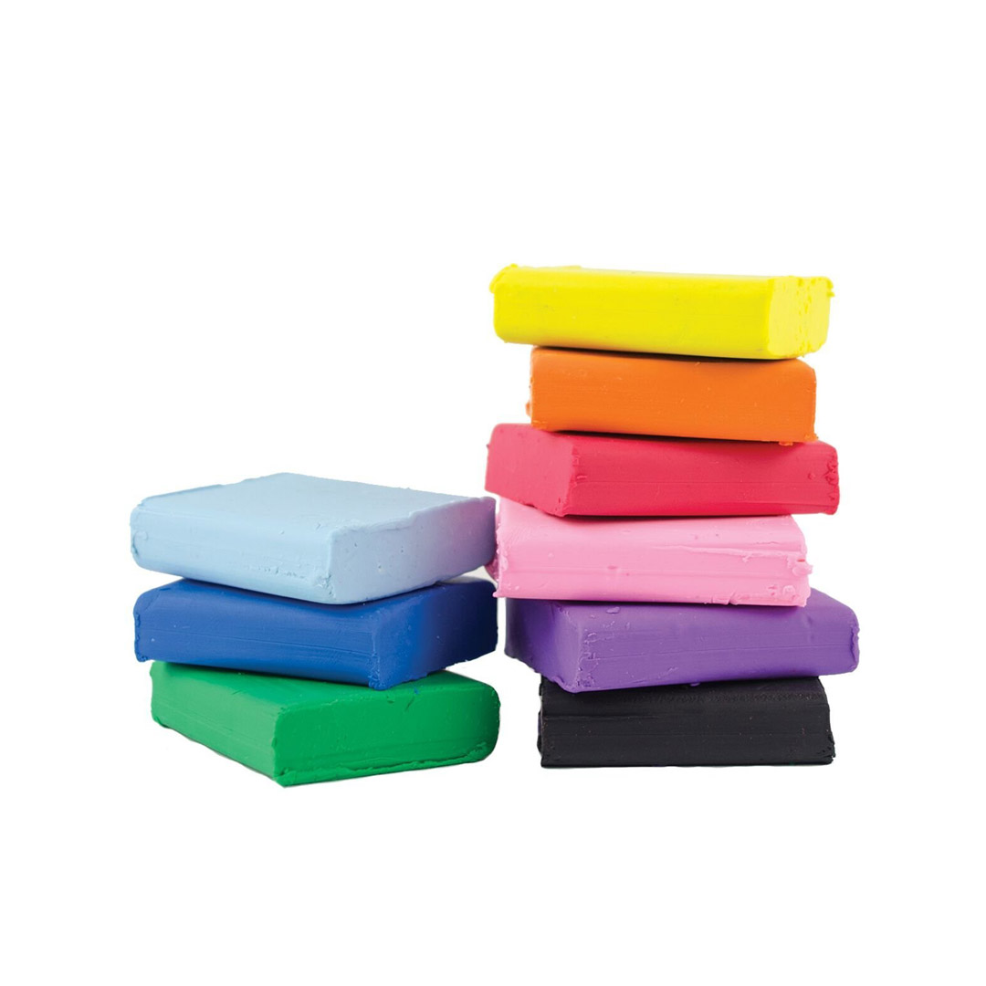 12 Clay Colours Creatibles DIY Eraser Kit Kids Creative Rubber Making